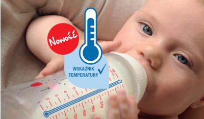 Butelki NUK First Choice+ ze wskaźnikiem temperatury