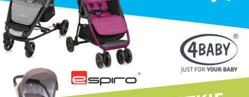 Promocja wózków 4baby, Babydesign, Espiro
