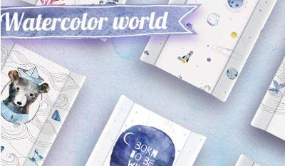 Nowa kolekcja Ceba Baby WATERCOLOR WORLD