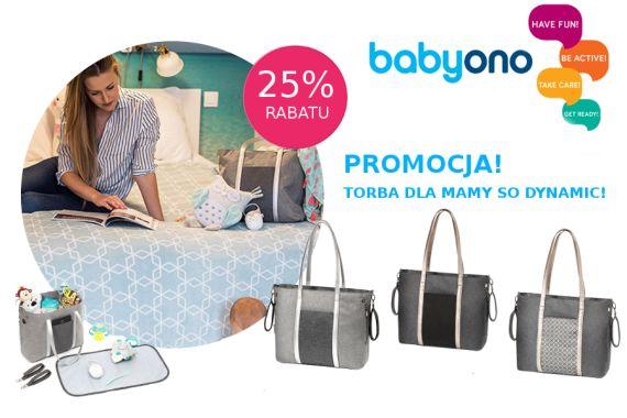 Baby Ono torba SO DYNAMIC -25% rabatu