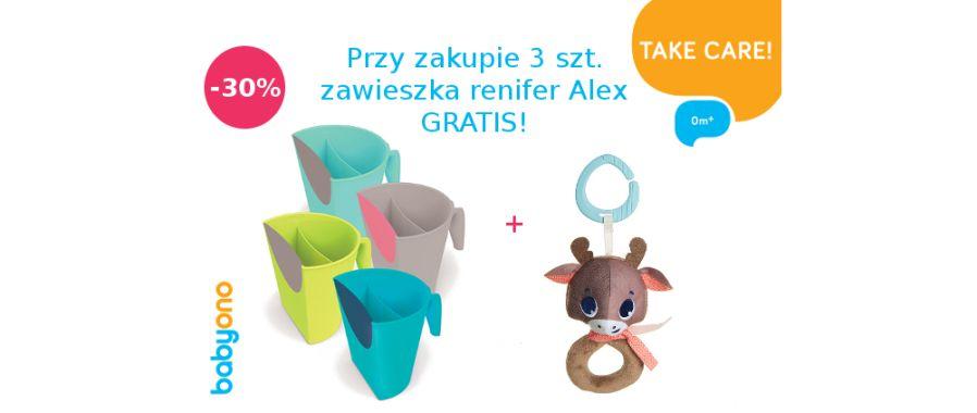 BABY ONO RABAT NA KUBEK DO MYCIA GŁOWY+ gratis!