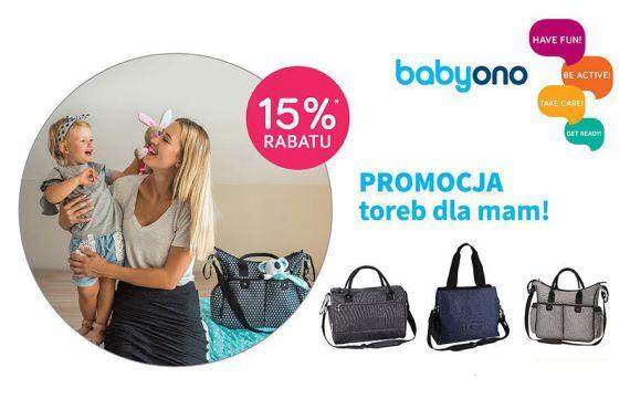 Baby Ono- Torby dla mamy BASIC -15% taniej!
