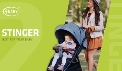 Spacerówka Stinger-połączenie klasyki, elegancji i funkcjonalności
