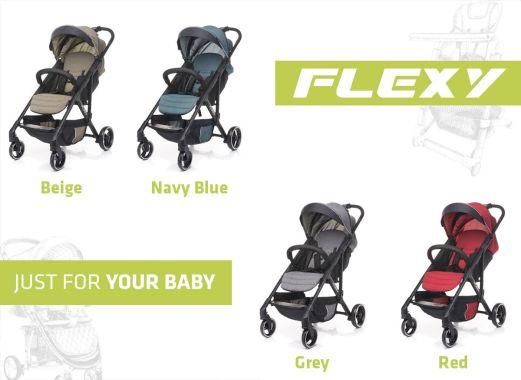 Wózek FLEXY - premiera produktu 4baby