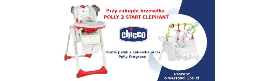 Chicco krzesełko Polly 2 start + gratis!