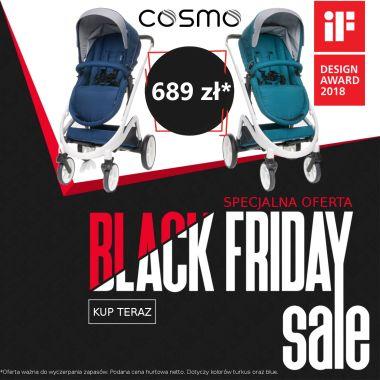 Wózek COSMO 4 baby w rewelacyjnej cenie!