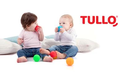 Rozwiń zmysł dotyku dziecka z zabawkami sensorycznymi TULLO