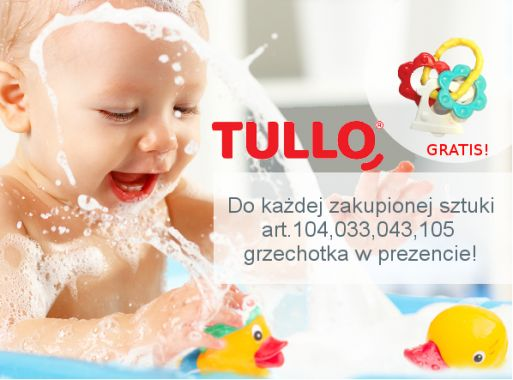 Tullo- kaczuszki do kąpieli z dodatkowym prezentem