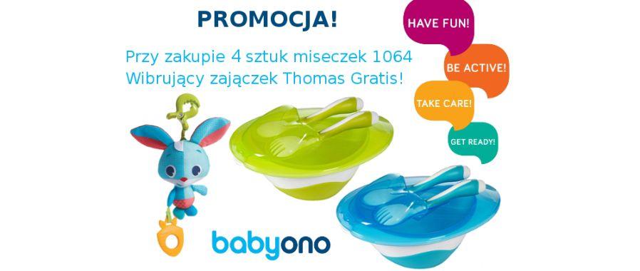 Baby Ono- przy zakupie mieseczek zawieszka Thomas GRATIS!
