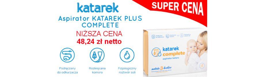 Katarek Complete Plus w niższej cenie!