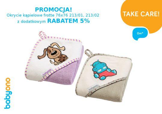 Baby Ono Promocja na okrycia kąpielowe