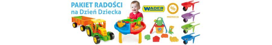 Zabawki WADER sprawdź promocję na dzień dziecka
