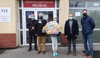 Akcja BABY BOX- Zuzia to pierwsze dziecko urodzone w tym roku w pszczyńskim szpitalu