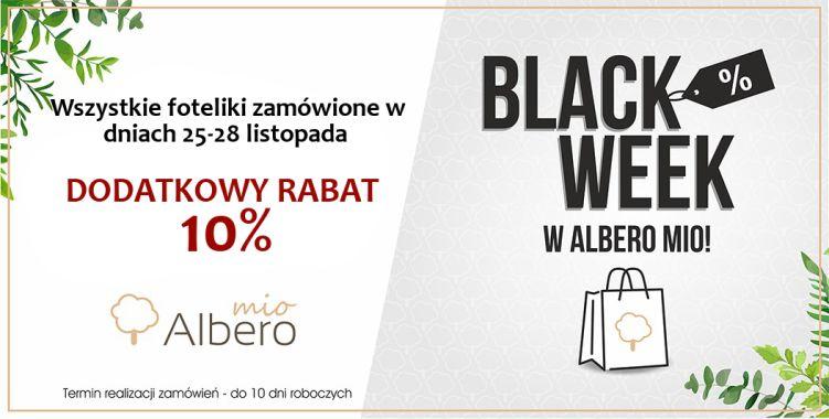 Wszystkie foteliki Albero Mio z dodatkowym rabatem -10%