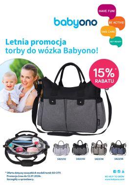 Letnia promocja na torby Baby Ono